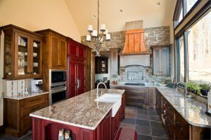 Cliffs Custom Home Interior