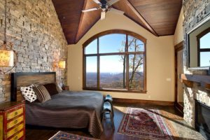 Cliff Custom Home Bedroom