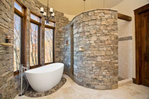 Cliff Custom Home Bathroom