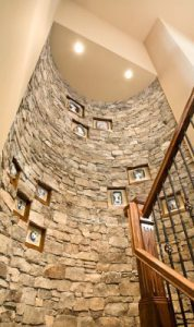 Cliffs Custom Home Stairway