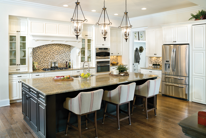 Somerset Model Home Gallery on Model Kitchen Picture  id=79069