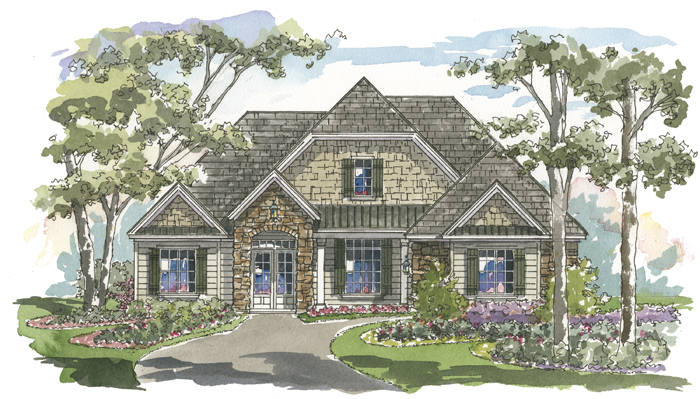 Carrington 1151 Home Plan - Elevation B
