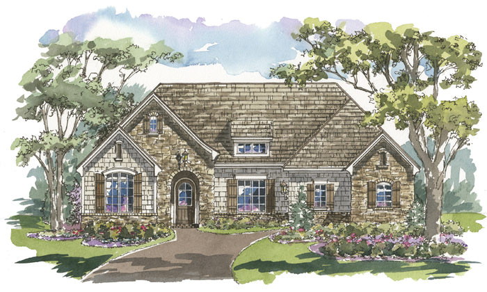 Carrington 1151 Home Plan - Elevation C