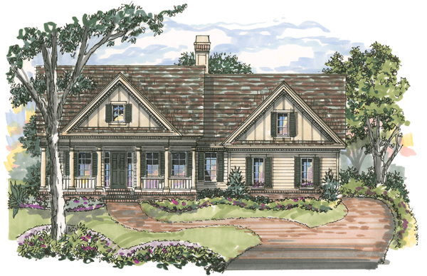 Chesterfield 1041 Home Plan - Elevation A