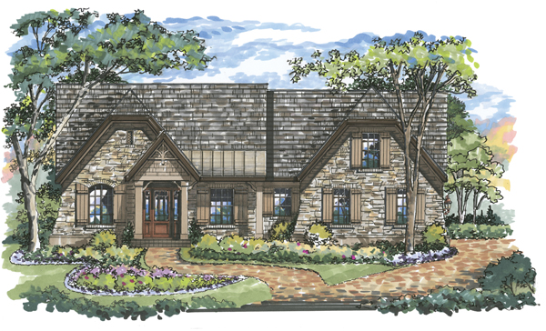 Chesterfield 1041 Home Plan - Elevation B