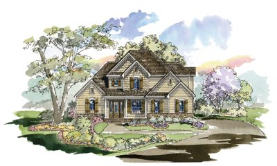 Fairview 1268 Home Plan - Elevation A