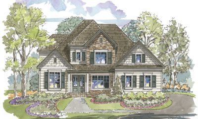 Providence 1185 Home Plan - Elevation A