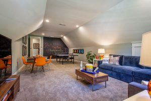 Asheville 1267 Model Home - Finished Attic Space