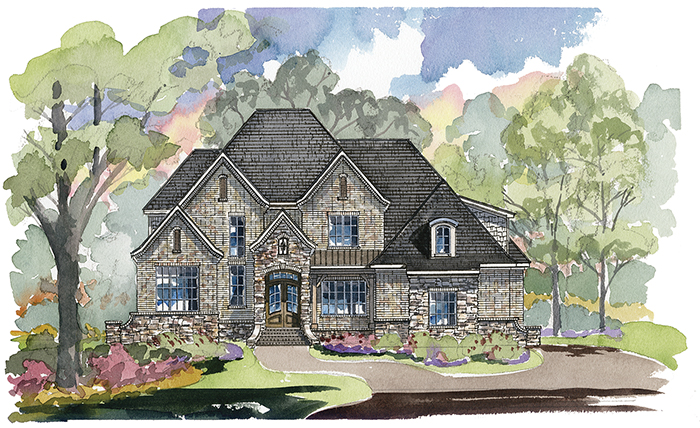 Caswell 1279 Custom Home Plan