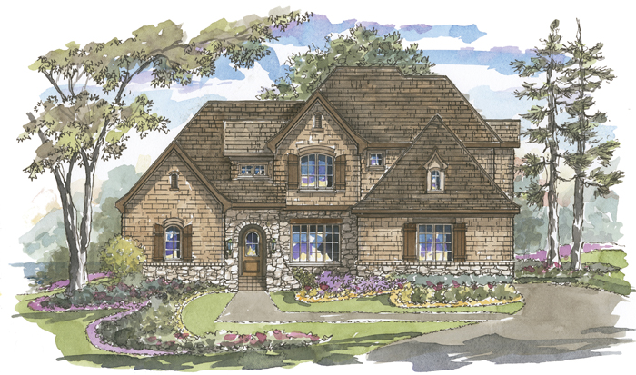 Saddlebrook 1160 Custom Home Plan