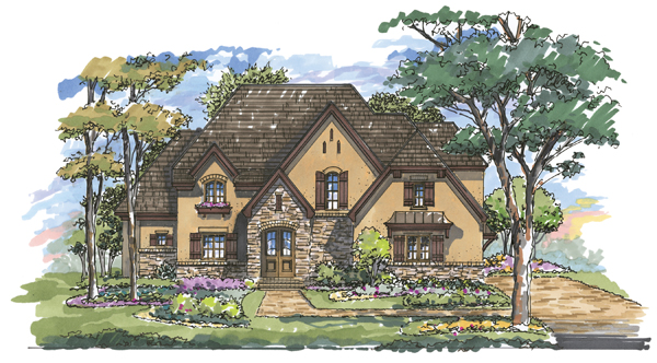 Woodbridge 1134 Custom Home Plan
