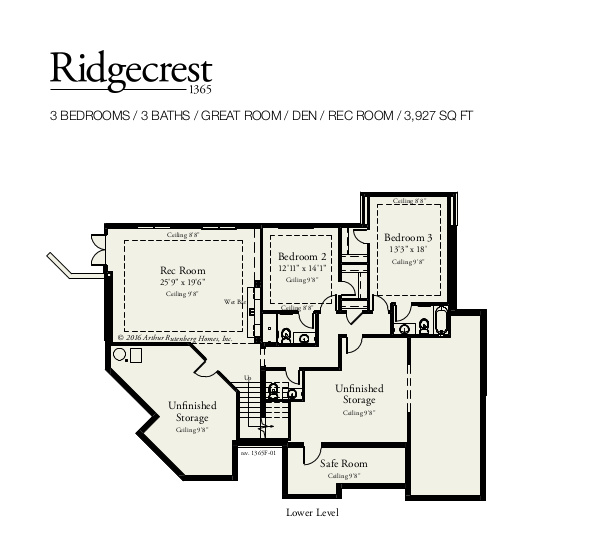Ridgecrest Lower Level