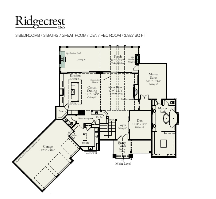Ridgecrest Main Level