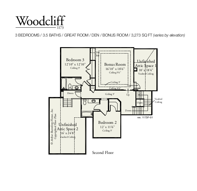 Woodcliff Second Floor