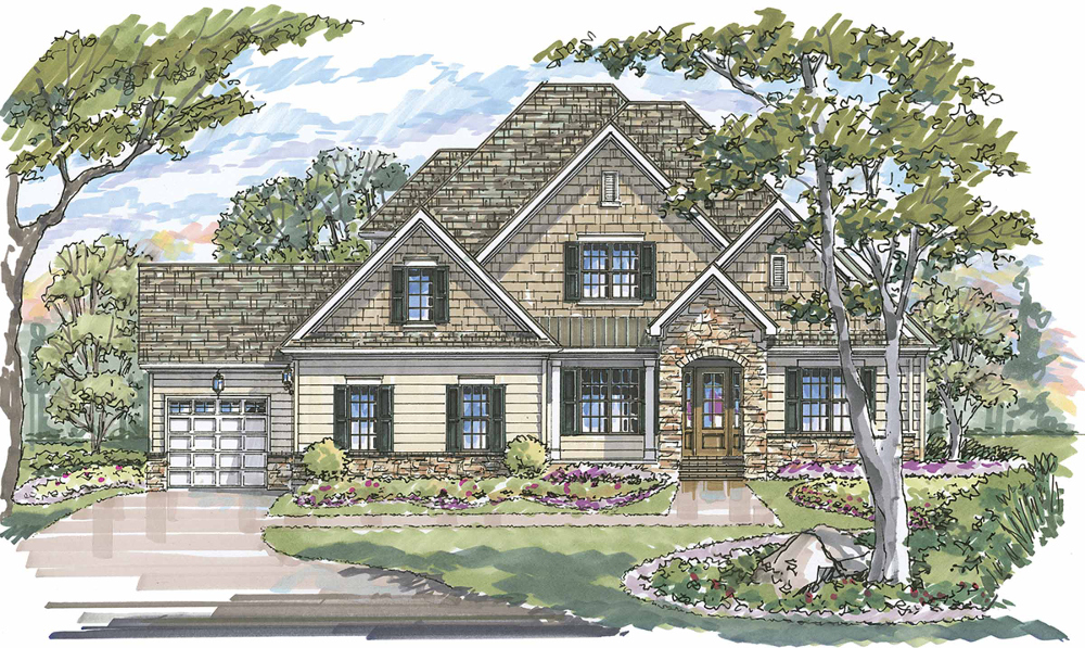 Woodcliff 1188F Elevation D