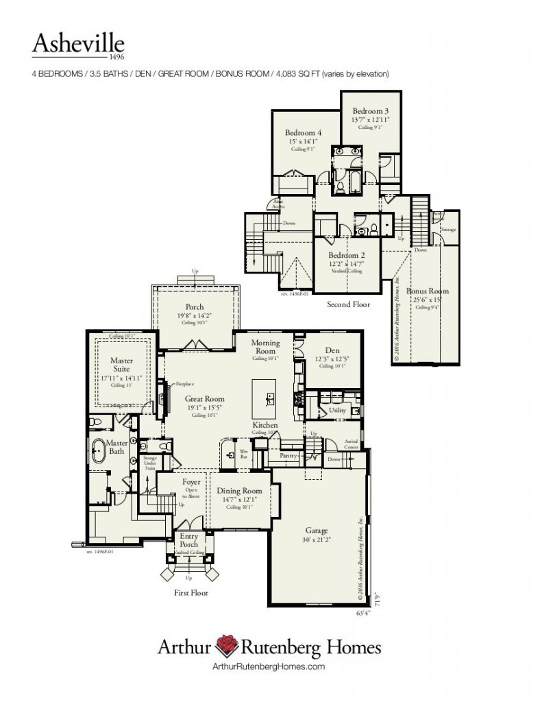 Asheville (1496F) - Classic Plan Collection