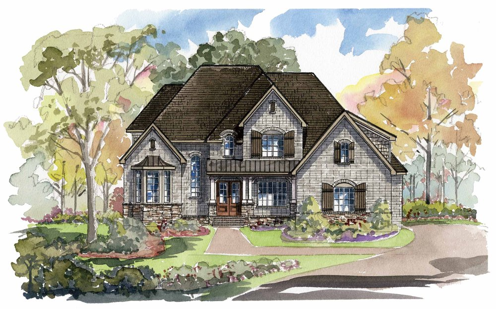 Caswell 1359F Home Plan - C