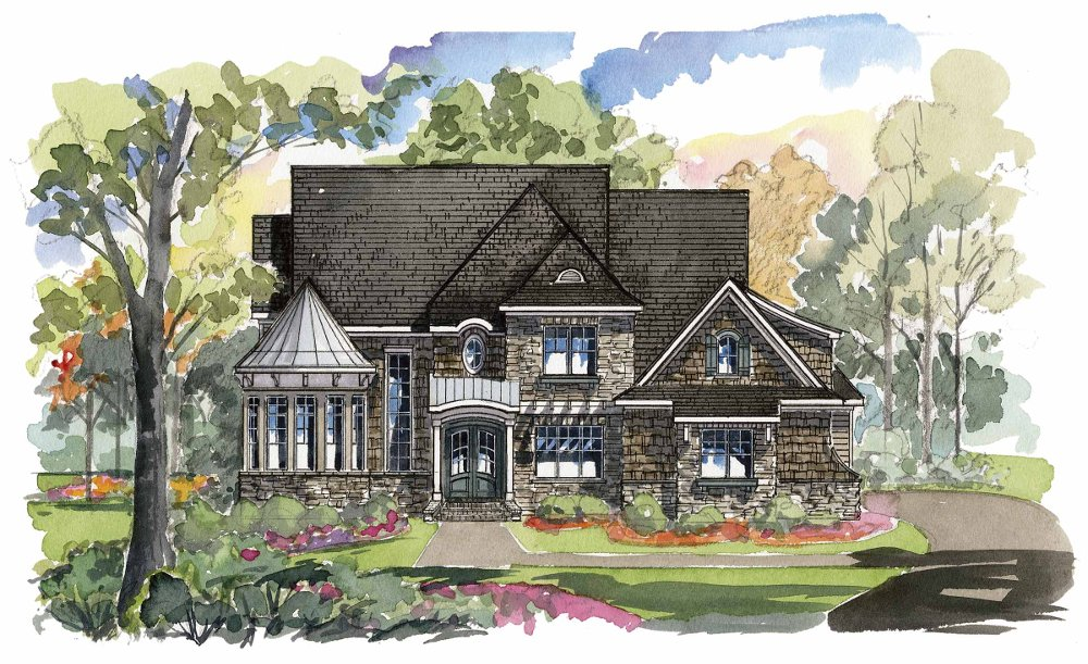 Caswell 1359F Home Plan - D