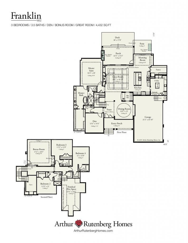 Franklin (1412F) - Classic Plan Collection