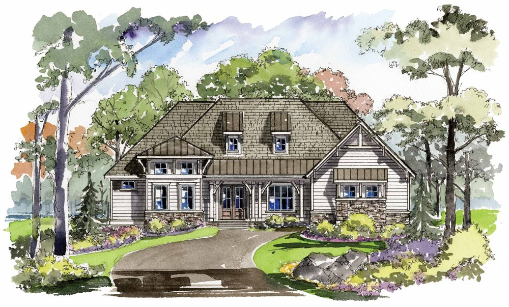 Oak Grove (1380F) - Classic Plan Collection