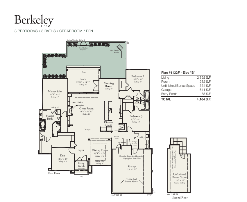 Berkeley 1132 Floorplan