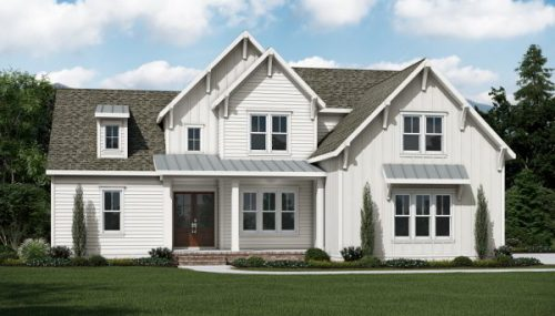 Cambridge Model Home In Braxton Ridge