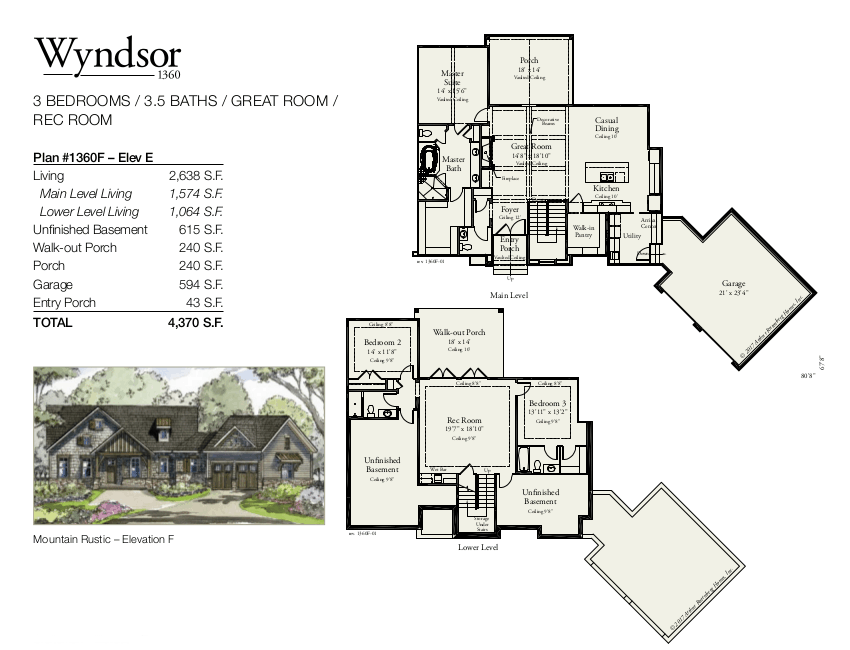 Wyndsor 1360 Floorplan