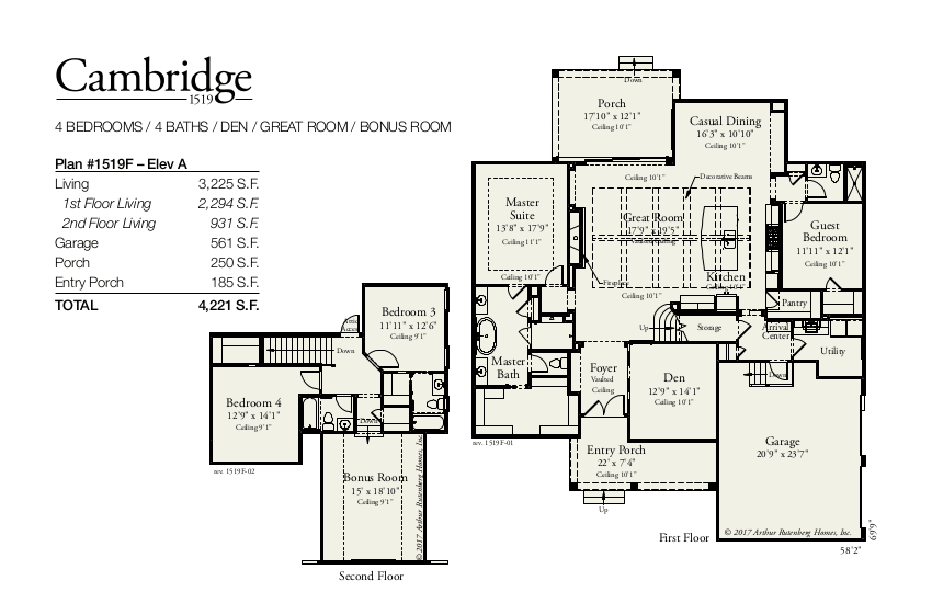 Cambridge Floorplan