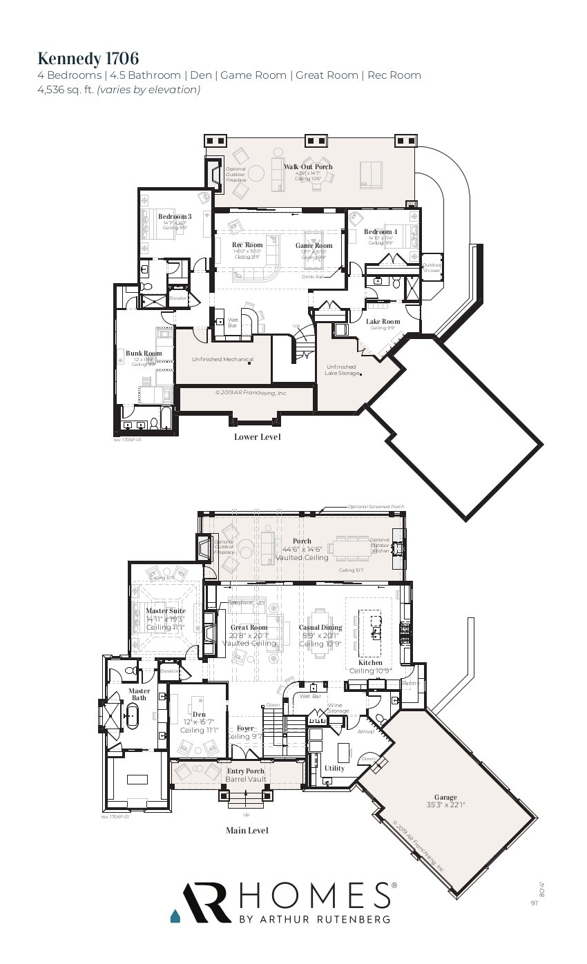 Kennedy 1706F Floor Plan
